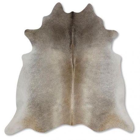 Pele em formato natural - Cinza Bege