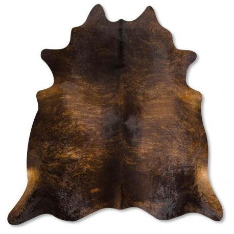 Pele em formato natural - Exótico Marrom