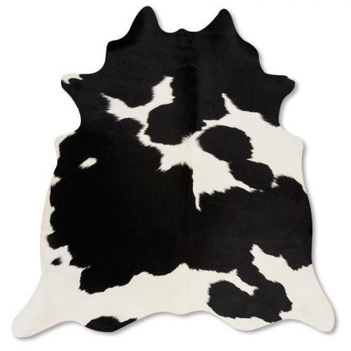 Pele em formato natural - Malhado Preto e Branco