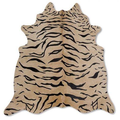 Pele em formato natural - Serigrafia Tigre